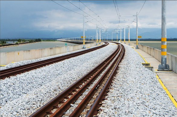 Electrified Double Track Railway