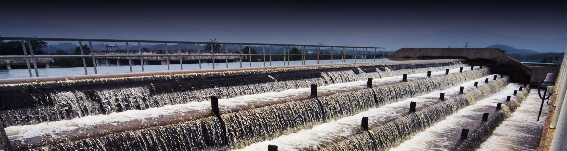 Water Regulating Dam, Water Treatment and Power Plant Header Image