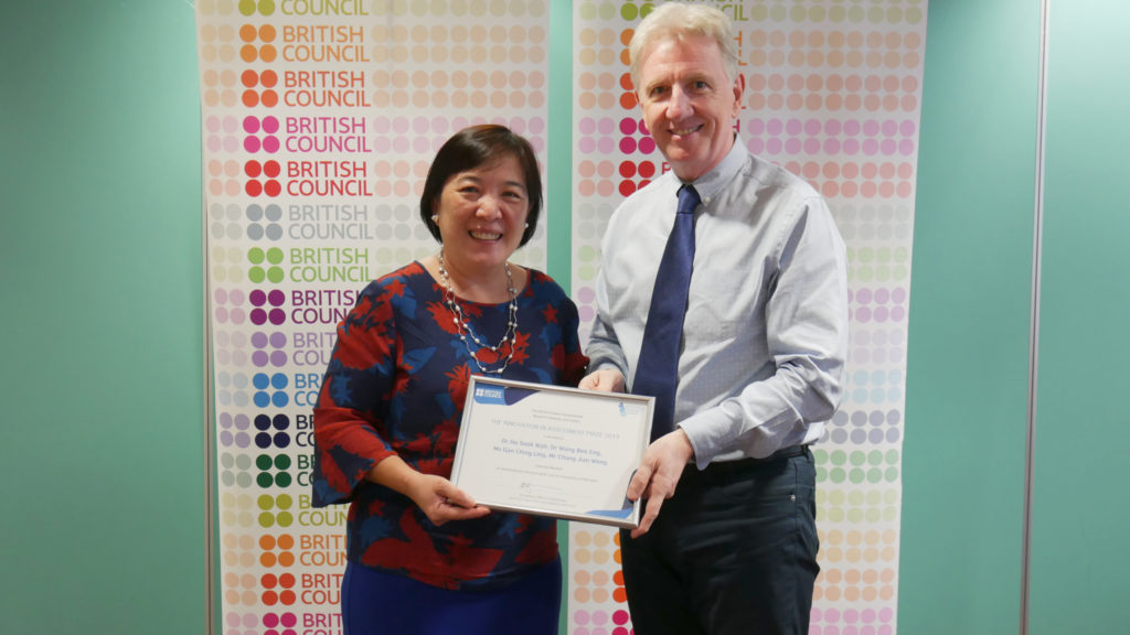 Gamuda recognised for innovation in English assessment